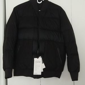 Lululemon Roam far wool bomber jacket reversible
